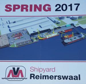 reclame bord Shipyard